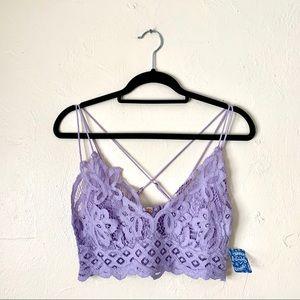📦NWT Free People Lavender Bralette